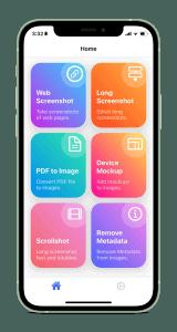 لقطة شاشة من تطبيق Imaginner